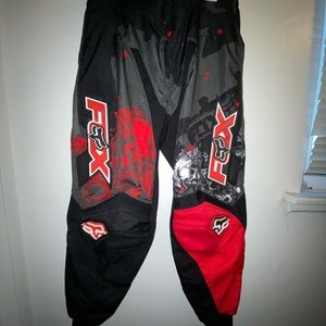 Fox Motocross Red Pants!
